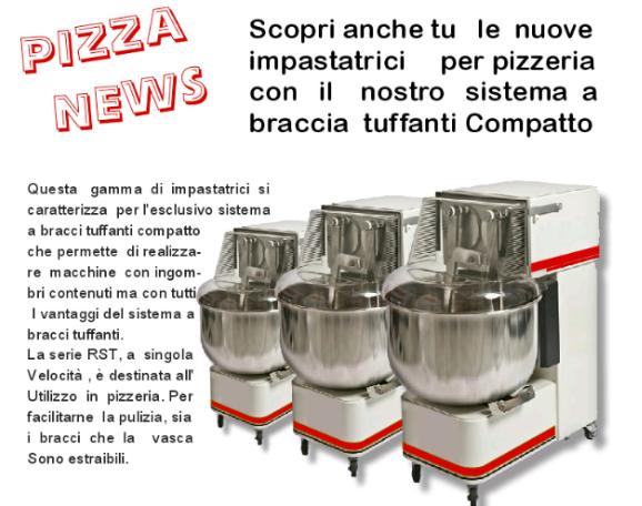 Pètrin á bras plongeant pour pizzeria ESCAPE='HTML'