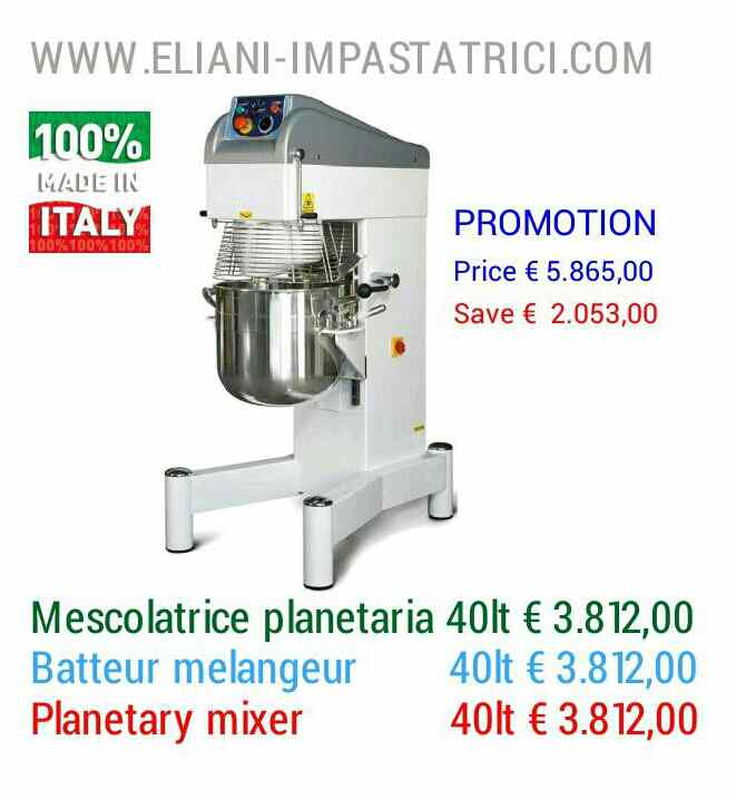 planetary mixer ESCAPE='HTML'